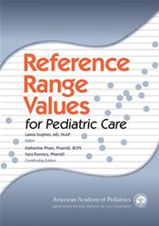 Reference Range Values for Pediatric Care