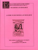 Securities Law Research