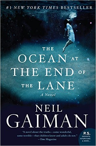 Book Cover-The Ocean At the End of the Lane
