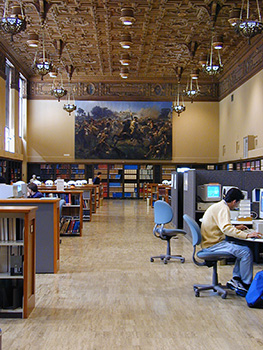 Heyns Reading Room in Doe Library