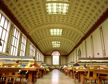 Doe Library, North Reading Room
