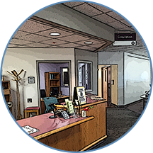 Library Circulation Desk Photo