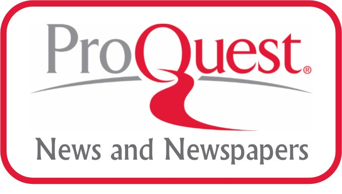 Image result for proquest news and newspapers
