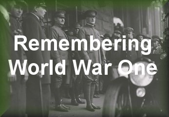 Remembering World War One