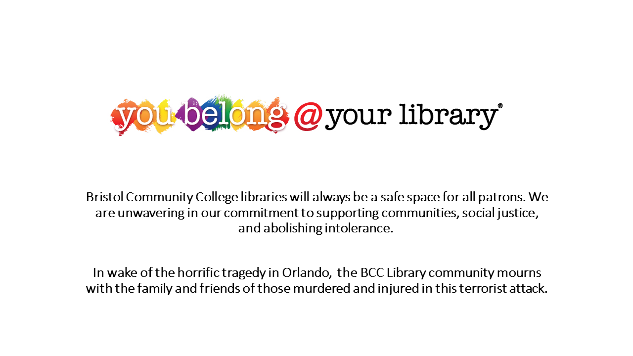 You belong @your library