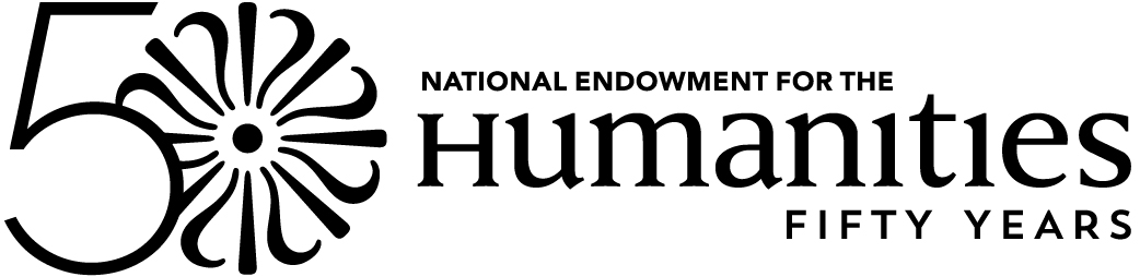 National Endowment for the Humanities 50 Years logo