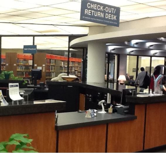 Picture of Circulation Desk