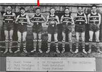 GHS Junior Yard Association Basketball Team, 1920