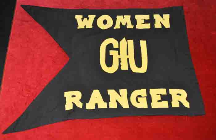 Women Ranger Team Guidon, late 1980's to mid 2000's
