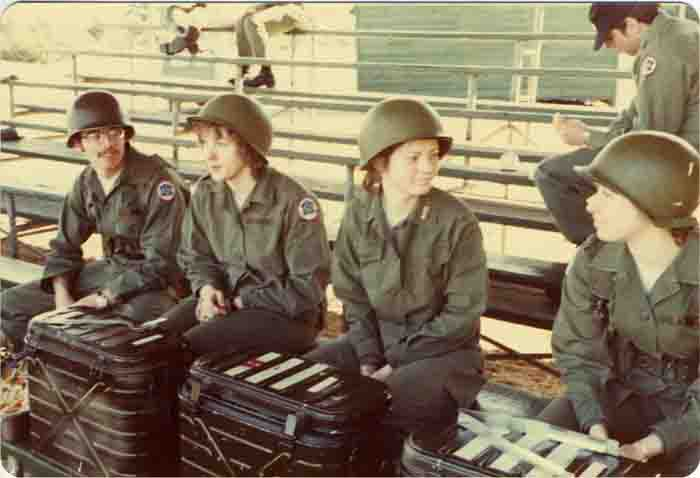 Women at Fort Lewis, 1970s