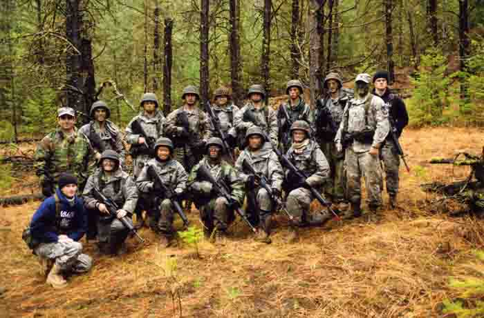 ROTC at Squad Training Exercise, Fort Lewis, 2008-2009