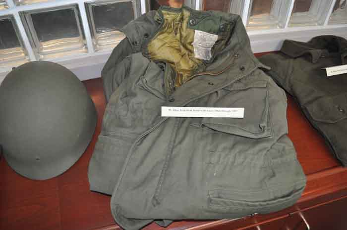 Olive Drab Field Jacket with Liner, 1960s through 1983