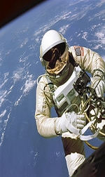 Ed White First US Spacewalker