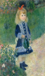 Auguste Renoir A Girl with a Watering Can 1876