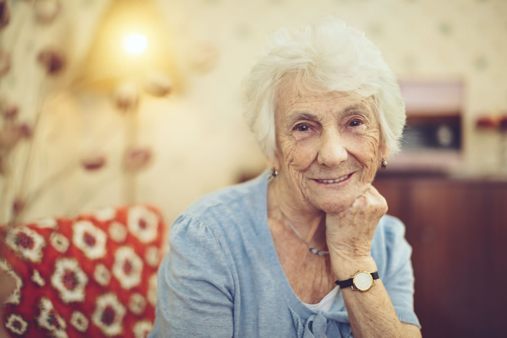 Image of an Aged Care Client