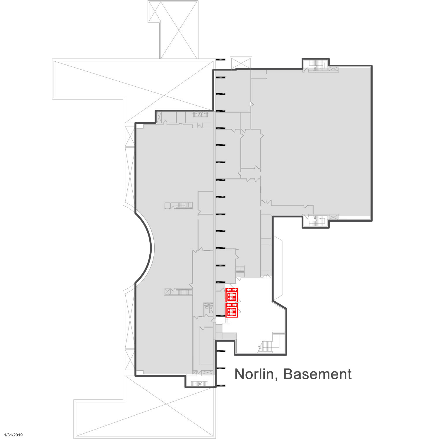 Norlin Basement Map