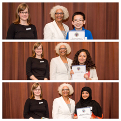 FOLMC writing contest winners