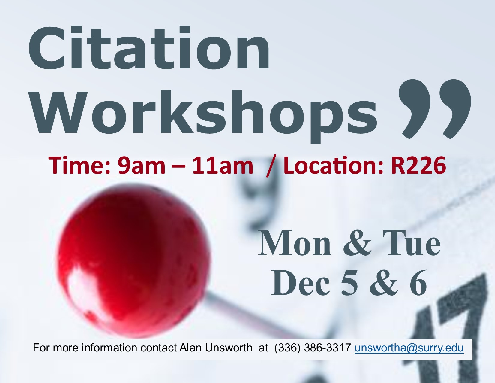 Citation Workshops decorative image