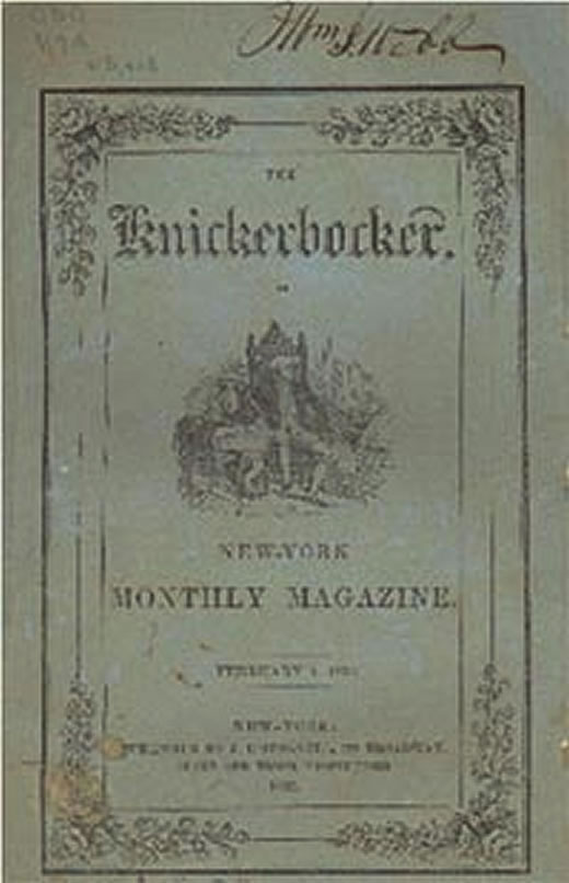 Knickerbocker - 19th Century Periodical