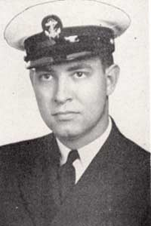 Gordon Duggan McDaniel, Class of 1937 Ensign, USNAF