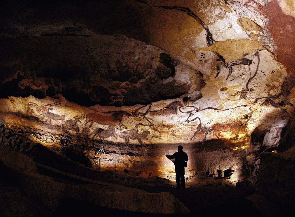 Lascaux cave painting, image by  Bayes Ahmed