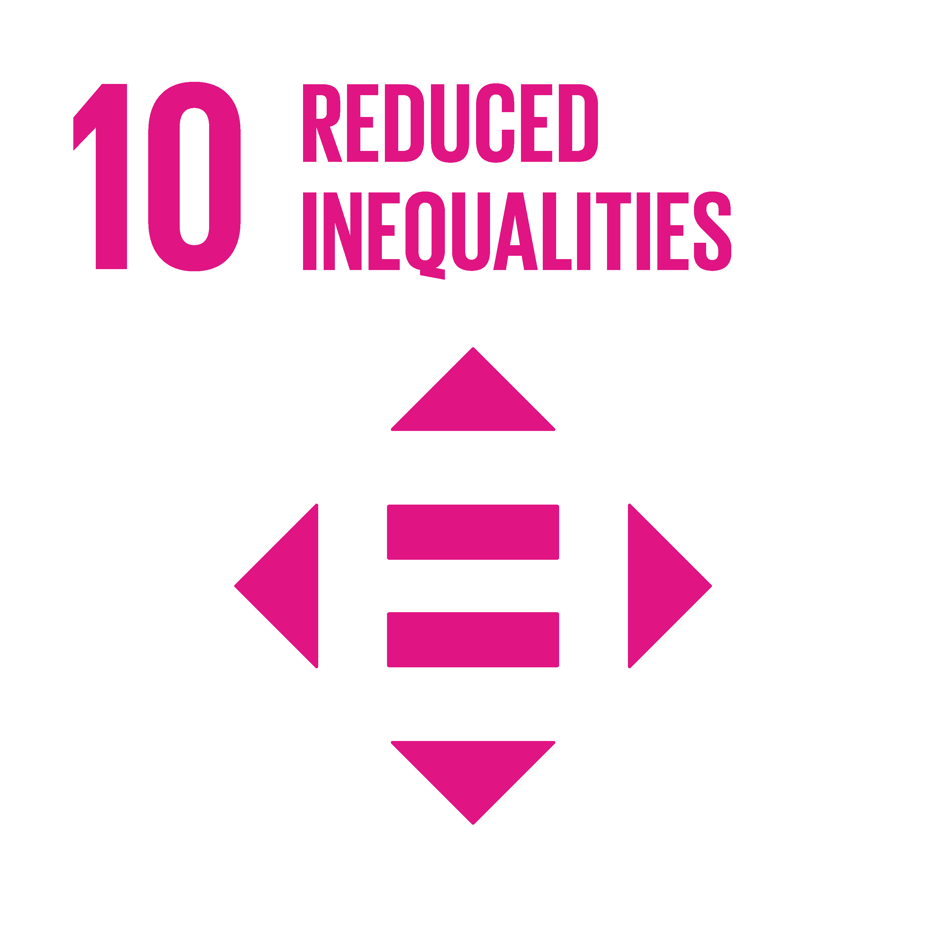 SDG 10 - Reduced inequalites