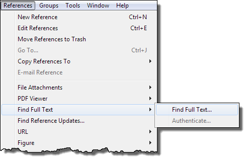 You can also configure EndNote to use your institution's resources, subscriptions, etc. when retrieving the full-text.