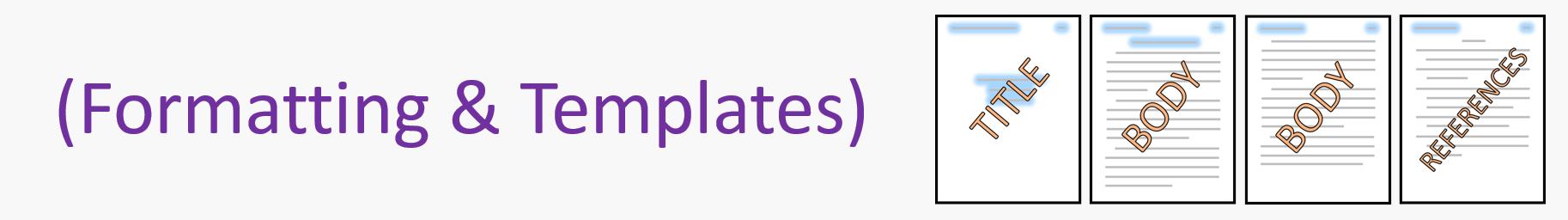 apa templates