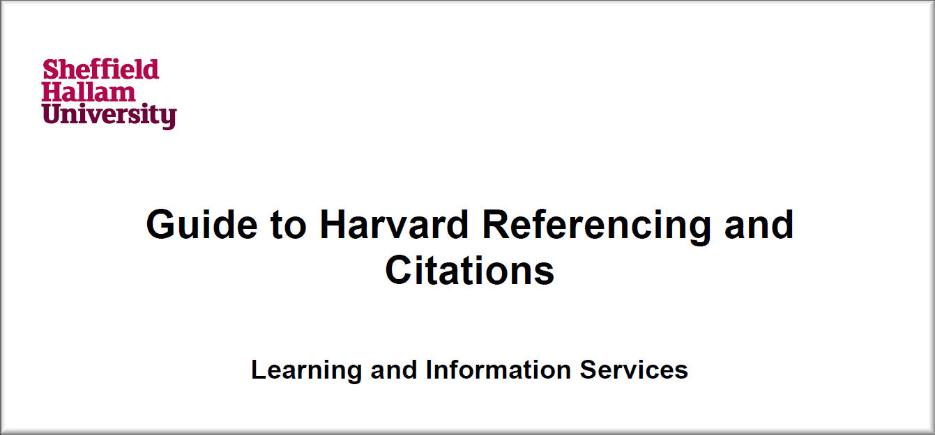 Examples of harvard referencing in essays