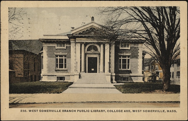 Somerville Public Library, West Branch