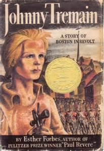 Johnny Tremain - book cover
