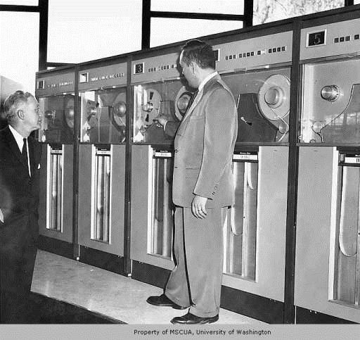 UNIVAC computer presented by the ALA at the 1962 World's Fair