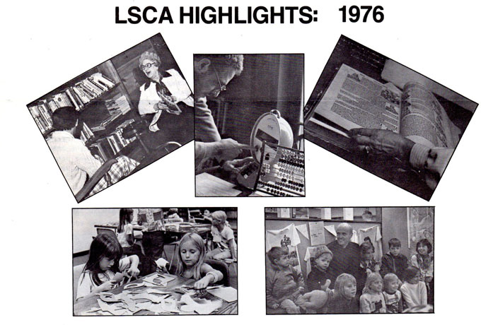 LSCA Highlights from 1976 - collage of snapshots
