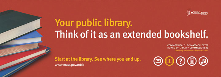 """Your public library. Think of it as an extended bookshelf."""