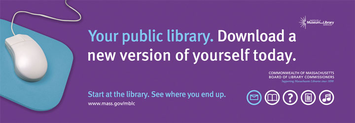 """Your public library. Download a new version of yourself today."""