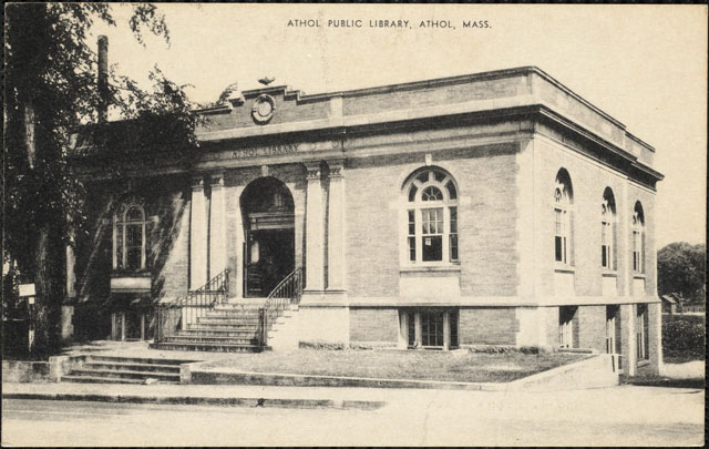 Athol Public Library, old Carnegie building