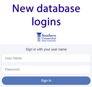 New database login using SailPoint