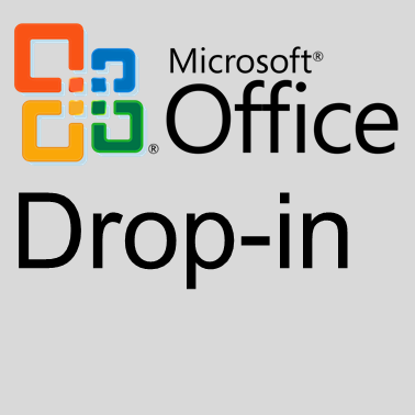 MS Office Drop-in