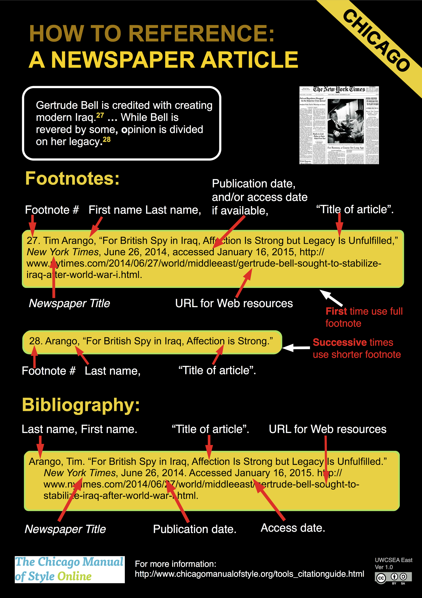 "chicago referencing guide What is footnoting/endnoting (chicago style) sometimes called ""chicago style ,"" footnotes and endnotes are different from in-text citation methods (such as."