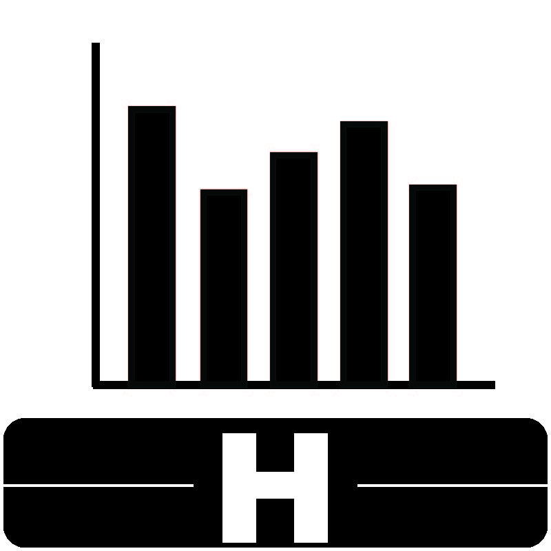 Library Icon H for Social Sciences