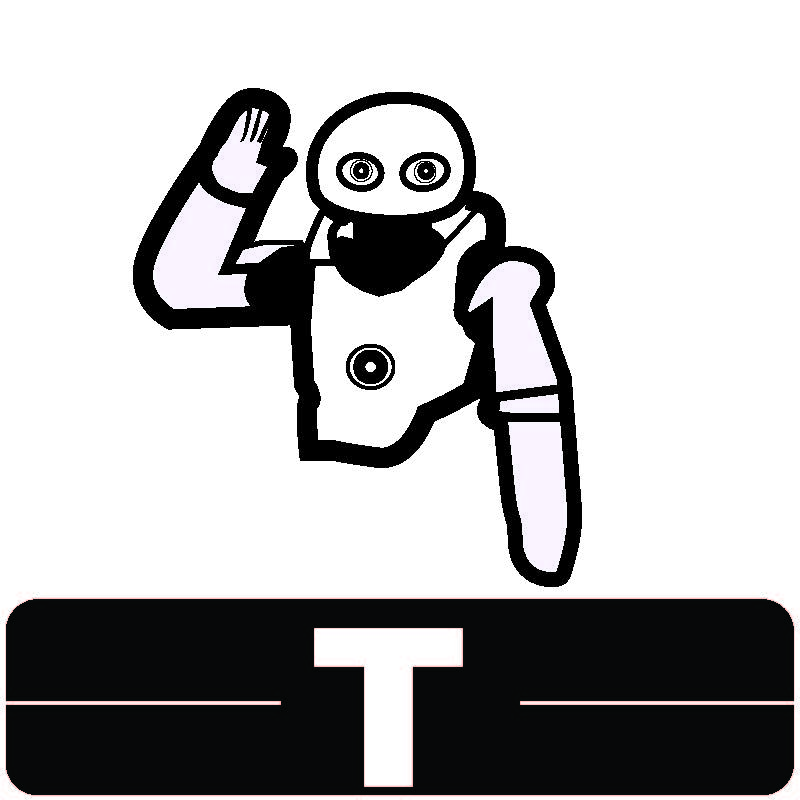 Library Icon T for Technology