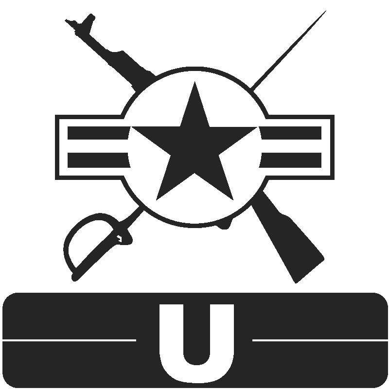 Library Icon U for Military Science