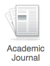 Academic Journal icon from OneSearch