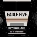 The Tap Eagle Five Hoppy Black Lager