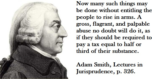 "Adam Smith Discussing the ""1/3 Test"""