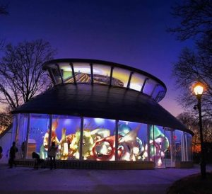 SeaGlass Carousel in Battery Park City