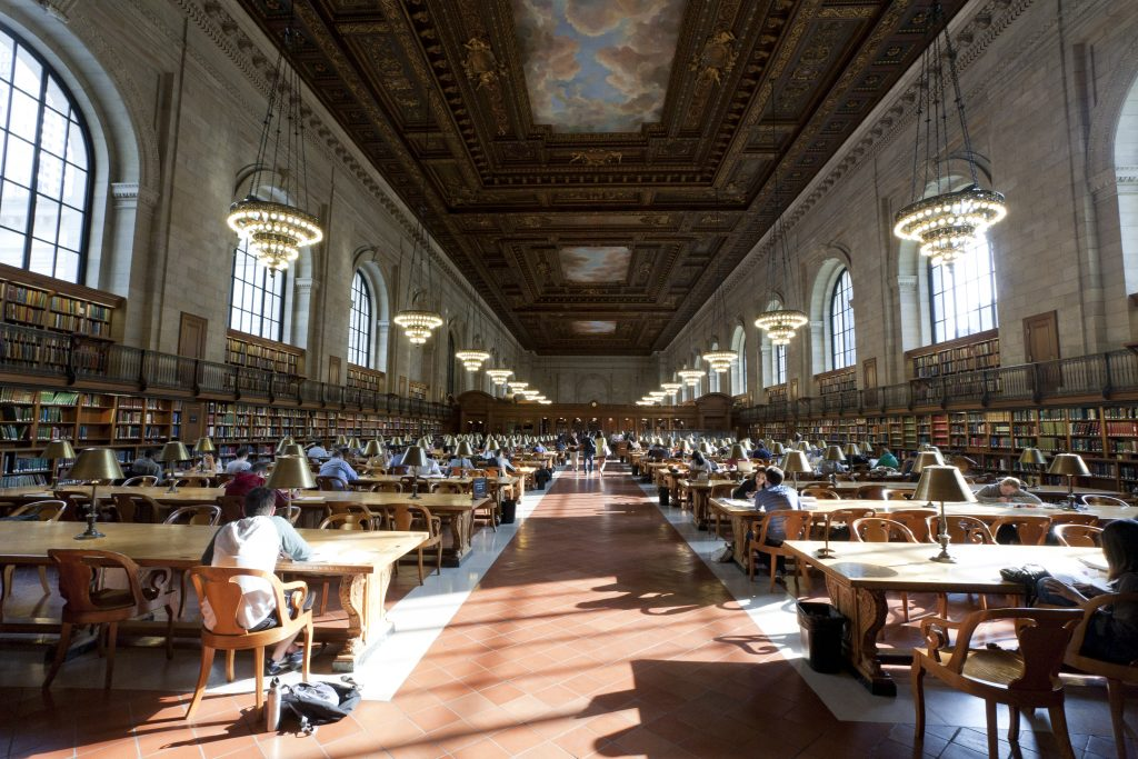 Rose Reading Room in NYPL