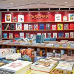 Taschen Book Store Shelves in SOHO