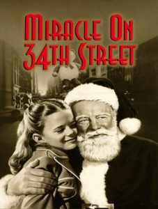 Miracle on 34th Street Movie Poster