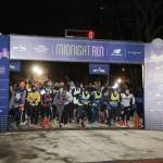 NYC NYE Runners at the Midnight run